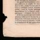 DÉTAILS  03 | Décret - Louis XVI - 1790 - Discours du Roi à l'Assemblée nationale | Caricature de la Révolution Française - Fraternité des Soldats