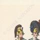 DÉTAILS  05 | Décret - Louis XVI - 1790 - Discours du Roi à l'Assemblée nationale | Caricature de la Révolution Française - Fraternité des Soldats