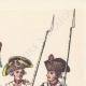 DÉTAILS  06 | Décret - Louis XVI - 1790 - Discours du Roi à l'Assemblée nationale | Caricature de la Révolution Française - Fraternité des Soldats