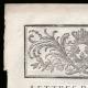 DÉTAILS  01 | Lettre patente du Roi - Louis XVI - 1790 - Assemblées électorales | Caricature de la Révolution Française