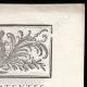 DÉTAILS  02 | Lettre patente du Roi - Louis XVI - 1790 - Assemblées électorales | Caricature de la Révolution Française