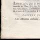 DÉTAILS  03 | Lettre patente du Roi - Louis XVI - 1790 - Assemblées électorales | Caricature de la Révolution Française