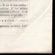 DÉTAILS  04 | Lettre patente du Roi - Louis XVI - 1790 - Assemblées électorales | Caricature de la Révolution Française