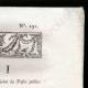 DÉTAILS  02 | Décret - Louis XVI - 1791 - Nouvelle Organisation du Trésor public | Révolution Française - Bataille de rue