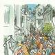 DÉTAILS  05 | Décret - Louis XVI - 1791 - Nouvelle Organisation du Trésor public | Révolution Française - Bataille de rue