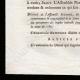 DÉTAILS  03 | Décret - Louis XVI - 1791 - Comptabilité de la Ferme générale et de la Régie générale | Révolution Française - Attaque de la Bastille