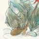 DÉTAILS  07 | Décret - Révolution Française - 1792 - Caisse de l'Extraordinaire ouvrira le remboursement de l'emprunt | Révolution Française - Couple au chapeau