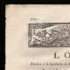 DÉTAILS  01 | Décret - Louis XVI - 1791 - Liquidation de divers offices supprimés | Révolution Française - Attaque d'un cavalier du roi