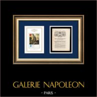 Decree - Louis XVI of France - 1791 - Contribution patriotique | Liberty Leading the People (Eugène Delacroix) | Decree N°207 of the National Assembly with a large woodcut vignette dated 25 Février 1791