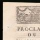 DÉTAILS  01 | Proclamation du Roi - Louis XVI - 1791 - Installation d'un Tribunal à Orléans | Portrait de Emmanuel-Joseph Sieyès (1748-1836)