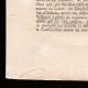 DÉTAILS  03 | Proclamation du Roi - Louis XVI - 1791 - Installation d'un Tribunal à Orléans | Portrait de Emmanuel-Joseph Sieyès (1748-1836)
