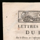 DETAILS  01 | Letters patent of the King - Louis XVI of France - 1790 - Postmaster | National Motto of France - Fraternity