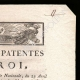 DETAILS  02 | Letters patent of the King - Louis XVI of France - 1790 - Postmaster | National Motto of France - Fraternity