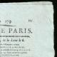 Einzelheiten  02 | Französische Revolution - Journal de Paris - Sonntag, 28. Juni 1789 | Porträt von Camille Desmoulins (1760-1794)