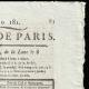 DÉTAILS  02 | Révolution Française - Journal de Paris - Mardi 30 Juin 1789 | Bonaparte franchissant le Grand-Saint-Bernard (Jacques-Louis David)