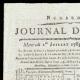 Einzelheiten  01 | Französische Revolution - Journal de Paris - Mittwoch, 1. Juli 1789 | Porträt von Gilbert du Motier de La Fayette (Joseph-Désiré Court)