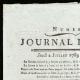 DETAILS  01 | French Revolution - Journal de Paris - Thursday, July 2, 1789 | Portrait of Louis Antoine de Saint-Just (1767-1794)
