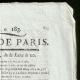 DETAILS  02 | French Revolution - Journal de Paris - Thursday, July 2, 1789 | Portrait of Louis Antoine de Saint-Just (1767-1794)