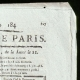 DETAILS  02 | French Revolution - Journal de Paris - Friday, July 3, 1789 | Portrait of Marianne - National Personification of the French Republic