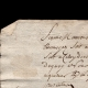 DETAILS  08 | Historical Document - Reign of Louis XV of France - 1747 - Jean-Jacques Rousseau Arrives in Paris after the Death of his Father