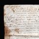 DÉTAILS  05 | Document Historique sur Parchemin - Règne de Henri IV de France - 1590 - Guerres de Religion et Catherine de Médicis