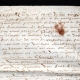DÉTAILS  06 | Document Historique sur Parchemin - Règne de Henri IV de France - 1590 - Guerres de Religion et Catherine de Médicis