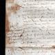 DÉTAILS  07 | Document Historique sur Parchemin - Règne de Henri IV de France - 1590 - Guerres de Religion et Catherine de Médicis