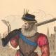 DÉTAILS  01   Document Historique sur Parchemin - Règne de Henri IV de France - 1590 - Guerres de Religion - Mousquetaire et Arquebuse