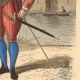 DÉTAILS  04   Document Historique sur Parchemin - Règne de Henri IV de France - 1590 - Guerres de Religion - Mousquetaire et Arquebuse