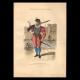 DÉTAILS  05   Document Historique sur Parchemin - Règne de Henri IV de France - 1590 - Guerres de Religion - Mousquetaire et Arquebuse