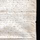 DÉTAILS  08   Document Historique sur Parchemin - Règne de Henri IV de France - 1590 - Guerres de Religion - Mousquetaire et Arquebuse