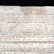 DÉTAILS  06   Document Historique sur Parchemin - Règne de Henri IV de France - 1596 - Guerres de Religion - Gardien Geolier