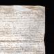 DÉTAILS  07   Document Historique sur Parchemin - Règne de Henri IV de France - 1596 - Guerres de Religion - Gardien Geolier