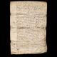 DÉTAILS  04 | Document Historique sur Parchemin - Règne de Louis XIV de France - 1668 - Année de Parution des Fables de Jean de La Fontaine
