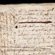DÉTAILS  05 | Document Historique sur Parchemin - Règne de Louis XIV de France - 1668 - Année de Parution des Fables de Jean de La Fontaine