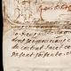DÉTAILS  06 | Document Historique sur Parchemin - Règne de Louis XIV de France - 1668 - Année de Parution des Fables de Jean de La Fontaine