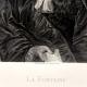 DÉTAILS  08 | Document Historique sur Parchemin - Règne de Louis XIV de France - 1668 - Année de Parution des Fables de Jean de La Fontaine