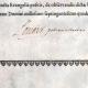 DETALLES  02   Antiguo Título de Medicina sobre Pergamino - Reinado de Luis XV de Francia - 1743 - Georges Lazare Berger de Charency - PRO LICENTIAE GRADU