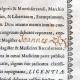DETALLES  03   Antiguo Título de Medicina sobre Pergamino - Reinado de Luis XV de Francia - 1743 - Georges Lazare Berger de Charency - PRO LICENTIAE GRADU