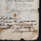 DETAILS  06 | Historical Document - First French Empire - 1809 - Nizza - Montenotte - Italy - License of Merchant