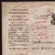 DÉTAILS  01 | Document Historique - Révolution Française - 1799 - Circulaire du Ministre de la Guerre aux Directeurs des Fortifications