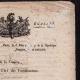 DÉTAILS  03 | Document Historique - Révolution Française - 1799 - Circulaire du Ministre de la Guerre aux Directeurs des Fortifications