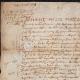 DÉTAILS  01   Document Historique sur Parchemin - Règne de Louis XIII de France - 1637 - France XVIIème Siècle