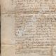 DÉTAILS  02   Document Historique sur Parchemin - Règne de Louis XIII de France - 1637 - France XVIIème Siècle