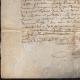 DÉTAILS  05   Document Historique sur Parchemin - Règne de Louis XIII de France - 1637 - France XVIIème Siècle