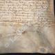 DÉTAILS  06   Document Historique sur Parchemin - Règne de Louis XIII de France - 1637 - France XVIIème Siècle