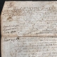 DETAILS  01   Historical Document on Parchment - Reign of Louis XIII of France - 1636 - France XVIIth Century