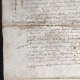 DETAILS  02   Historical Document on Parchment - Reign of Louis XIII of France - 1636 - France XVIIth Century