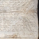 DETAILS  04   Historical Document on Parchment - Reign of Louis XIII of France - 1636 - France XVIIth Century