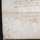 DETAILS  05   Historical Document on Parchment - Reign of Louis XIII of France - 1636 - France XVIIth Century